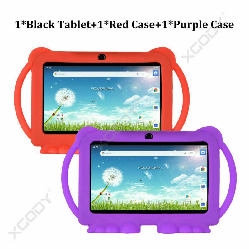 Tablet+RedCase+PurpleCase