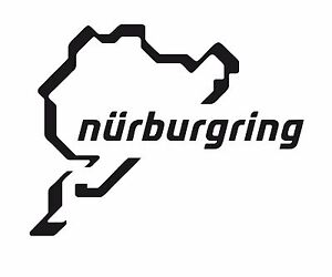 NURBURGRING-LAP-VINYL-STICKER-LOTS-OF-COLOURS