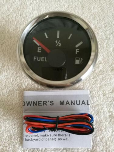 agua temperatura Tacho Velocímetro presión de aceite voltios nivel de combustible Conjunto de calibre 6 con los remitentes