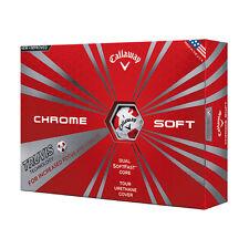 Callaway New Chrome Soft with Truvis Technology Golf Balls - 1 Dozen