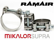 MIKALOR W2 Stainless Supra Heavy Duty Exhaust Pipe Clip Hydraulic Hose Clamp