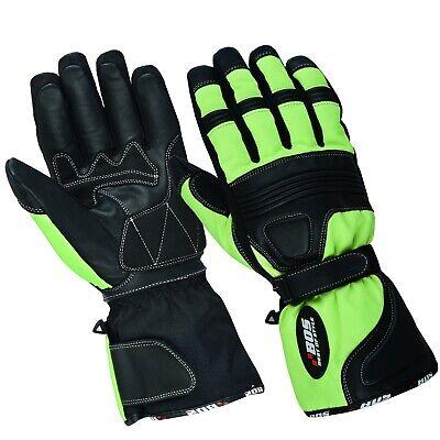 Motorradhandschuhe Regen Winter Motorrad Handschuhe Wasserdichte M-XL Schwarz
