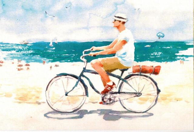 Russian modern Rare new postcard Artist Maria Stepanova
