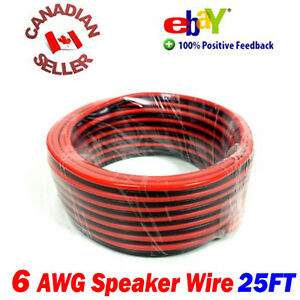 25-FT-15m-High-Definition-6-Gauge-6-AWG-Speaker-Wire-Cable-Home-Theater