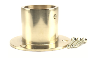 New decking rope cup ends to fit diameter 24,28,32,36 mm ropes Brass Finish
