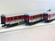 Märklin H0 3er Wagenset 4287/4285 DB stromführende Kupplungen OVP (N8660)
