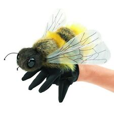 "Folkmanis Puppets 7"" Plush HONEY BEE Hand Glove Puppet ~NEW~"