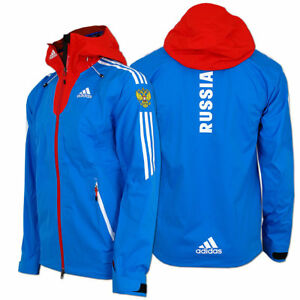 Das Bild wird geladen adidas-Damen-Cross-Country-Goretex-Rain-Jacket-Team- 380ada4b48