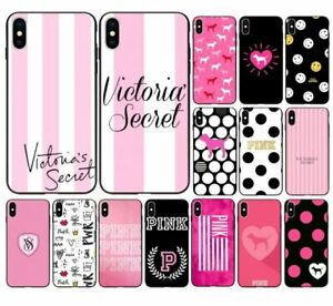 44c15529a60b1 Details about Pink Victoria Secret Hot Cover Case for iPhone 6 6S PLUS 7 8  plus X XS XSMAX XR