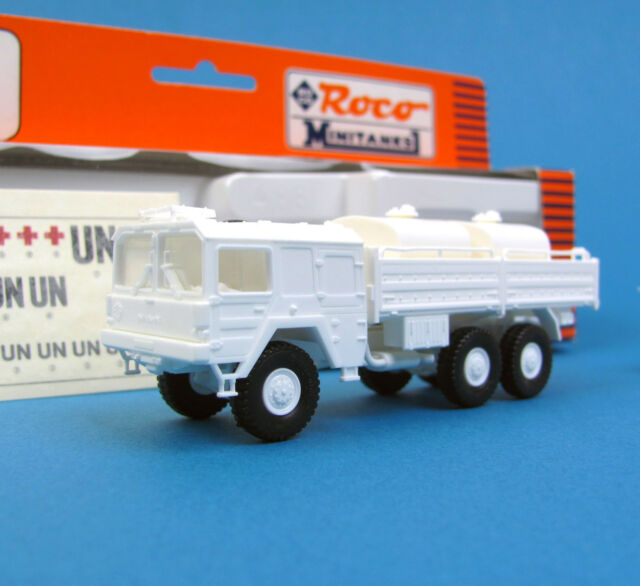 Roco Minitanks H0 750 MAN 6x6 LKW mit TANKANLAGE UNOSOM II UN HO 1:87 OVP