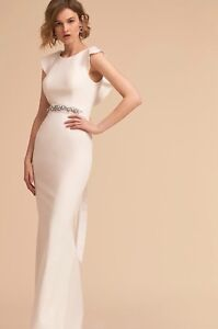 NEW-BHLDN-Adrianna-Papell-Eliot-Wedding-Dress-Gown-Bridal