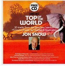 (BY302) Top of the World, Jon Snow, 15 tracks - 2010 Magazine CD