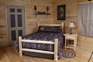 WESTERN CORRAL LOG BED   - FREE and FAST Shipping