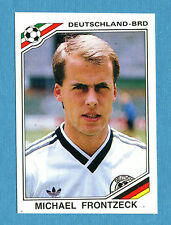 MEXICO 86 - Panini -Figurina-Sticker n. 299 - FRONTZECK - GERMANIA -Rec