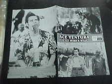 ACE VENTURE - WHEN NATURE CALLS, orig Austrian Film program [Jim Carrey]