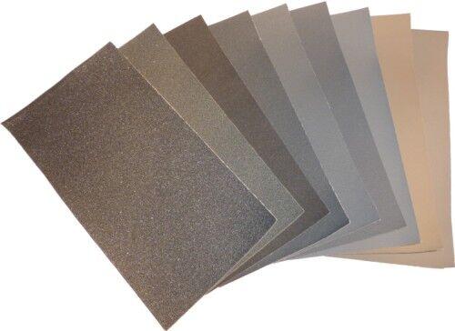 9 micromaille schleifleinen 1500-12000 sanding sheets
