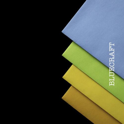 105 x 148 mm Lot de 500 x A6 Noir Double Face Vierge Cartes postales 240gsm