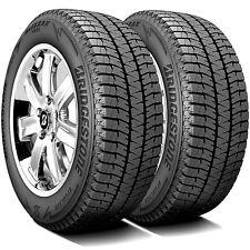 2 Tires Bridgestone Blizzak Ws90 20555r16 91h Studless Snow Winter