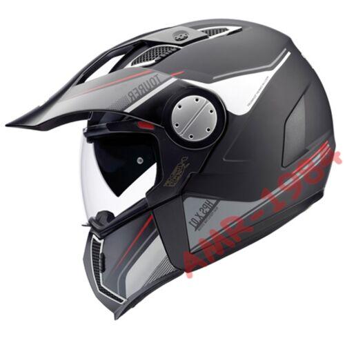"""CASCO GIVI INTEGRALE X01 TOURER  MATT BLACK TAGLIA /""""XL/"""" 61 HX01DN90061 GIVI X.01"""