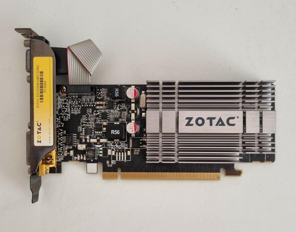 ZOTAC 210 512MB 64BIT DDR2 PCI