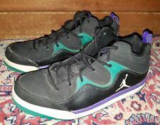 item 5 Jordan Flight TR 97 MID 574417-008 Men s Size 9.5 Black Purple Teal  Nike -Jordan Flight TR 97 MID 574417-008 Men s Size 9.5 Black Purple Teal  Nike 99790c4b6