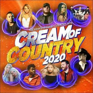 Cream-of-Country-2020-Various-Artists-CD-amp-DVD-Region-0-PAL-NEW