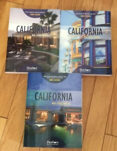 California Real Estate Principles Practice Finance 3 Textbooks 9th Edition Ebay
