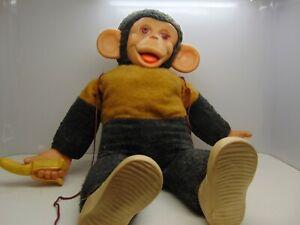 Vintage stuffed monkey
