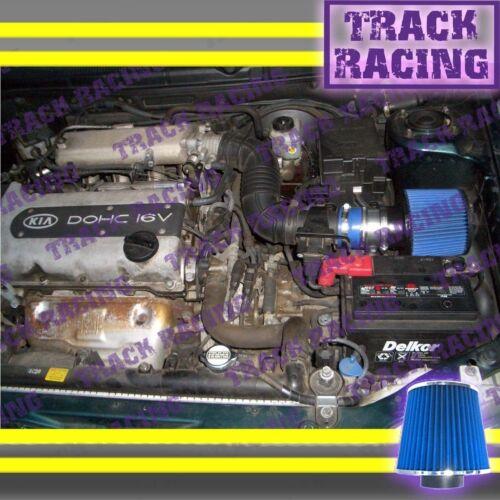 AIR INTAKE KIT FOR 96 97 98 99 00-09 KIA SEPHIA SPECTRA OPTIMA SEDONA Blue