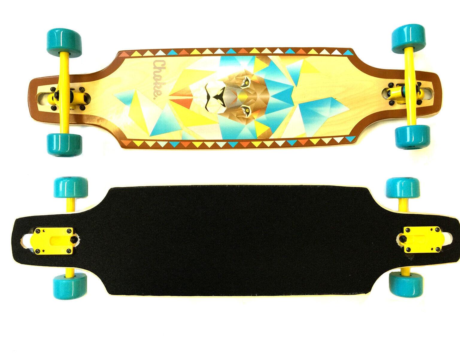 Choke Longboard Lion 37,4 '' X 9,5 ''Mädchen-longboard % Vente  %