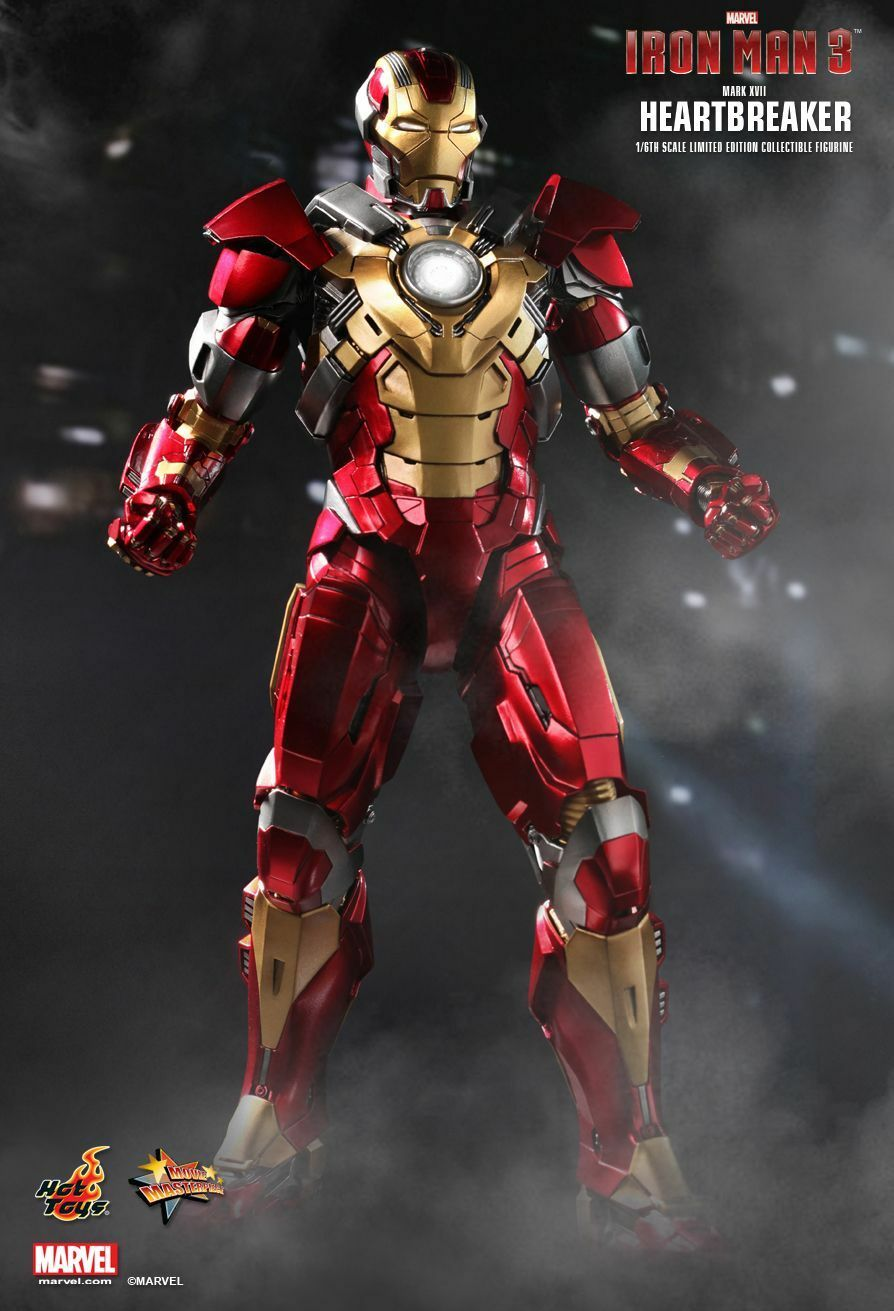 HOT TOYS - IRON MAN 3 HEARTBREAKER (MARK XVII) 1/6TH SCALE LIMITED EDITION