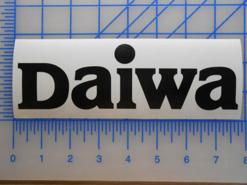 "Daiwa Logo Decal Sticker 5.5/"" 7.5/"" 11/"" Rod Reel Fishing Saltist Baitcaster Bass"