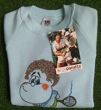 "NOS 1970s Panatta 'Bomber' kids tennis sweatshirt 8 32"" Italy"