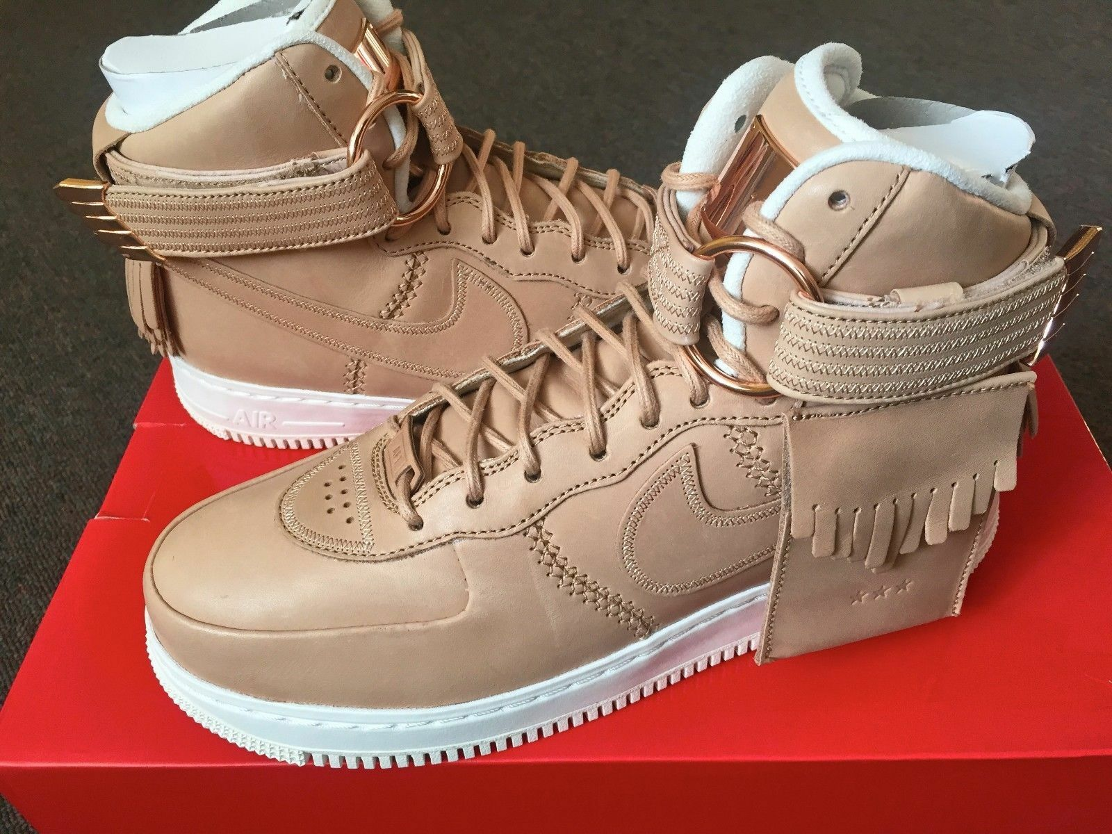 Nike Air Force 1 tan de alto SL vachetta tan 1 5 décadas All Star Lux 9194732018 AF1 como d48a25
