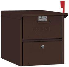 Salsbury Industries Designer Roadside Mailbox - Bronze - MAILBOX 4325D-BRZ NEW