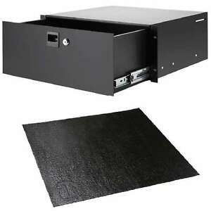 4he Rack-schublade Adam Hall 87404 Anti-rutschmatte Nonslip-rack-drawer-liner Enterprise Networking, Servers