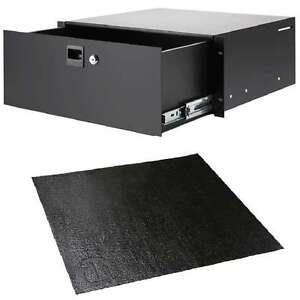 Cases, Racks & Bags Anti-rutschmatte Nonslip-rack-drawer-liner 4he Rack-schublade Adam Hall 87404