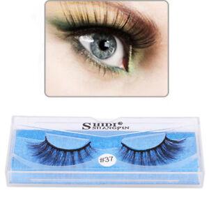 Details About Women Magnetic Reusable False Magnet Eye Lashes Extension Diy Tools N7