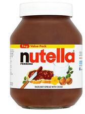 FERRERO NUTELLA HAZELNUT 1KG SPREAD WITH COCOA   NEW