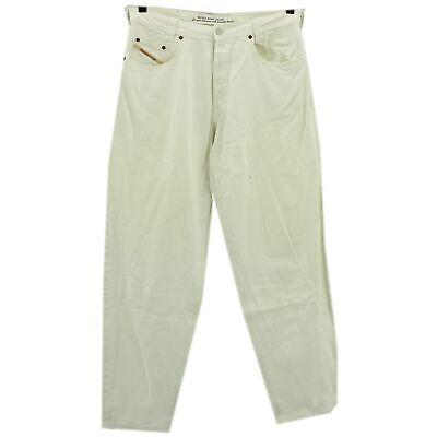 Il Prezzo Più Economico #4247 Diesel Jeans Uomo Pantaloni Old Saddle 313 Denim White Bianco 38/34-mostra Il Titolo Originale Il Massimo Della Convenienza