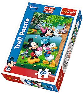 Disney picnic with donald puzzle pz.60 scale varie trefl