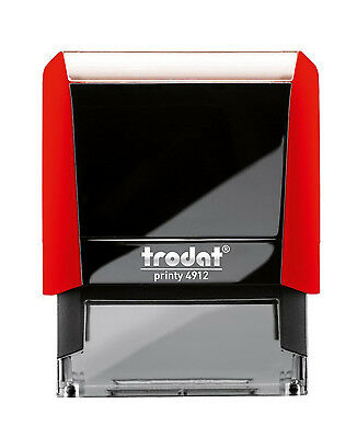 Custom For Deposit Only Red Trodat Printy 4912 Self Inking Rubber Stamp Office