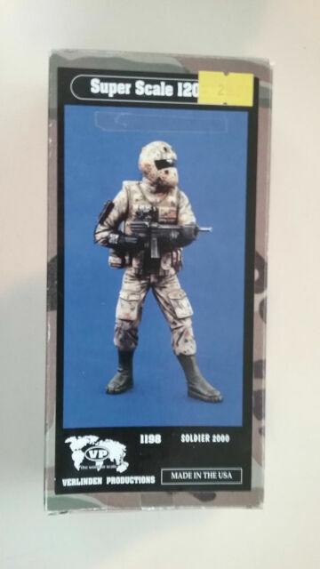 "/""Soldier 2000/"" Future Soldier Multi-Nation Project 1198 Verlinden 120mm 1//16"