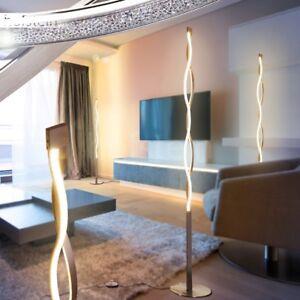 Charmant Das Bild Wird Geladen LED Design Steh Lampen Stand Boden Leuchten Wohn