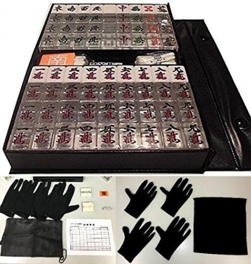Transparent Mahjong  Tiles une tuile de 4 spécial voiturerelage Taille Standard  le plus en vogue