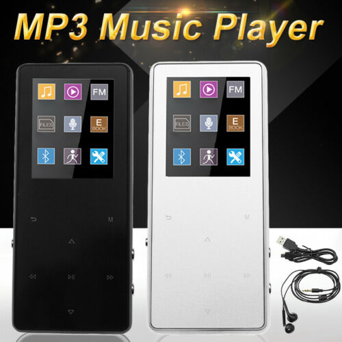 Portable Bluetooth MP3 Music Player with FM Hi-Fi Lossless Support to 128GB Fast