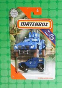 MATCHBOX 2020    OSHKOSH DEFENSE M-ATV  POLICE   70//100   NEU/&OVP
