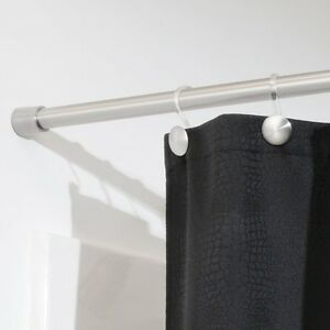 Image Is Loading NEW InterDesign Forma Shower Curtain Tension Rod Brushed