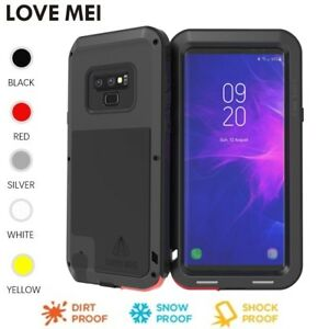 570a5ae6e7c LOVE MEI Powerful Metal Shockproof Armor Case For Samsung Note 9 S10 ...