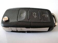 SCARABEO DI VOLKSWAGEN VW PASSAT CHIAVE TELECOMANDO A SCATTO,3 PULSANTI CIONDOLO
